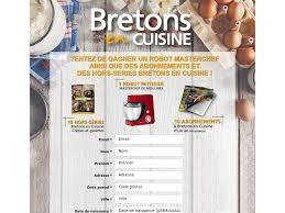 bretons en cuisine jeu concours ouest bretons en cuisine 2018