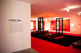 custom black and red event carpet in opium den designed by karen