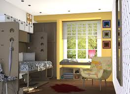 Modern Bedrooms Designs 2014 Cool Modern Bedroom Design With Twin Bunk Bed Storage Layout