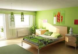 wallpaper bedroom green colour combination home combo