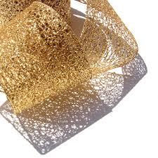 wired ribbon gold ribbon gold wired ribbon gold mesh ribbon christmas ribbon