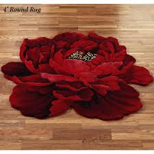 Outdoor Rug Walmart by Zoom Round Red Floral Rug Round Floral Rug Round Pink Floral Rug
