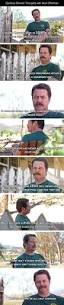 shower thoughts from ron swanson imgur