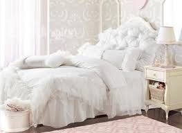 Black And White Lace Comforter New Arrival Princess Style Pure White Lace Borders Bed Skirt 4