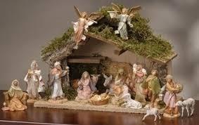17 fontanini 5 nativity figure set