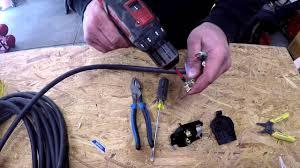 wiring a nema 6 50p plug for an everlast welder youtube