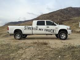homemade pickup truck stretch my truck