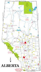 road map canada road map of alberta canada