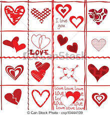 heart wrapping paper s day card wrapping paper vector clipart search