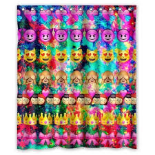 Rainbow Curtains Childrens Funny Emoji Bedroom Decorating Ideas For Kids U2014 Best Toys For Kids