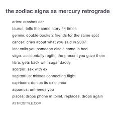 Cancer Horoscope Memes - non basic mercury retrograde memes you need now astrostyle