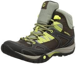 merrell women u0027s azura lapis mid high rise hiking boots shoes
