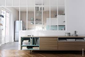 cloison vitree cuisine salon cloison cuisine trendy cloison cuisine salon avec etude et