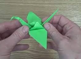 how to make an origami crane 1000 sadako paper peace cranes