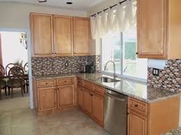 Kitchens With Light Cabinets Light Brown Kitchen Cabinets Sandstone Rope Door Kitchen
