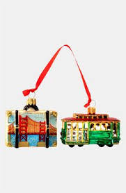 nordstrom at home embellished eiffel tower ornament