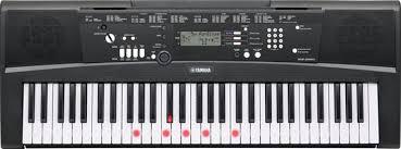 Yamaha Ez 220 61 Key Lighted Key Portable Keyboard