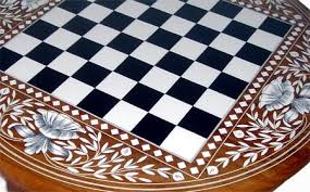 Chess Table Chess Table Manufacturer India Chess Table Exporter India Wooden