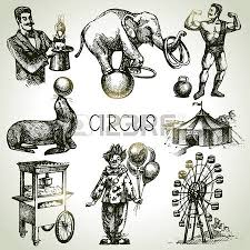 decorative circus clown fairy wand magic miracles vintage wrap