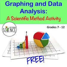 graphing and data analysis a scientific method activity by amy