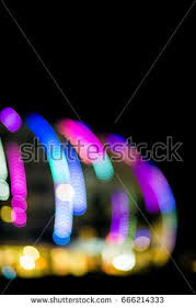 fairground ride spinning blur colour stock photo 491652907