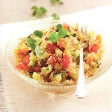 comment cuisiner quinoa salade de quinoa aux légumes croquants thermomix