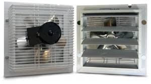 greenhouse exhaust fans with thermostat greenhouse ventilation the greenhouse gardener