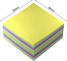 color paper color paper cube 500 sheets 90x90mm stationery