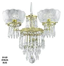 Antique Rock Crystal Chandelier Sconce 2 French Rock Crystal Maison Bagues Antique Sconces