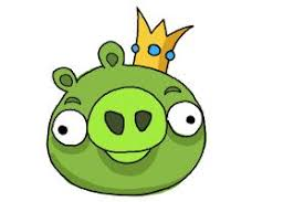 draw angry birds pig king pig drawingnow