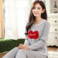 comfy lovely cotton casual clothes sleepwear