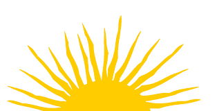 half sun with rays png transparent half sun with rays png images