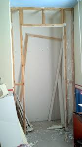 Small Closet Door Remodelando La Casa Removing Small Interior Wall With Door