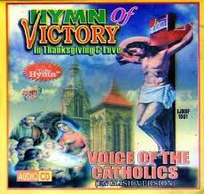 voice of catholics hymn of victory cd catholic hymns and products