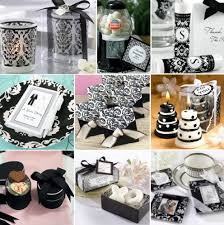 chagne wedding favors my wedding favors etc black and white wedding theme black white