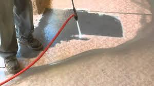 paint sandblasting removal from concrete las vegas youtube