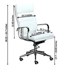 desk chair dimensions replica white high back office chair product