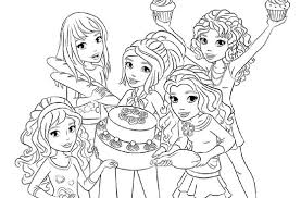 lego friends coloring pages print free periodic tables