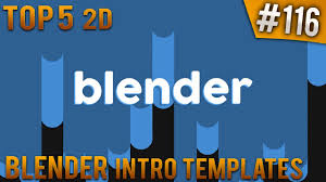 2d intro templates for blender top 5 blender 2d intro templates 116 free download youtube