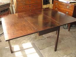 Antique Drop Leaf Table Georgian Drop Leaf Mahogany Table Antiques Atlas