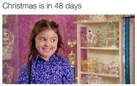 Funny Girl Face Meme - christmas can t wait