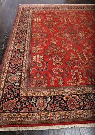 Red Tribal Rug Rugsville Fine Antique Persian Rose Red Tribal Hand Knotted Rug