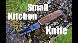Knives For Kitchen Use Knife Making Small Kitchen Knife For My Mother Youtube