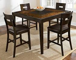 counter height dining table with swivel chairs dinette sets for small spaces 7 piece counter height dining set