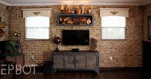 steampunk house interior epbot finished steampunk tv cabinet u0026 shelf reveal