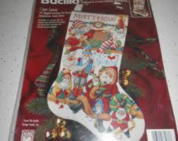 counted cross stitch hat snowman