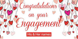 congratulations engagement banner engagement banner white