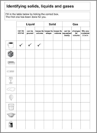 matter homework worksheet