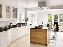 shaker kitchen island white shaker kitchen with oak island from harvey jones kitchen