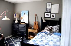 Music Themed Home Decor by Decorating Teen Boys Room Appealing Sports Themed Boy Bedroom